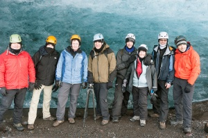 Our Group after photographing the ice caves