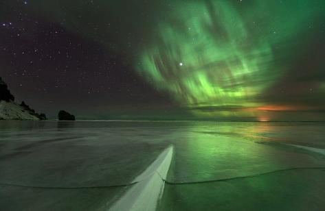 Aurora by Örvar Thorgeirsson