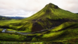 Iceland greenery by jack graham