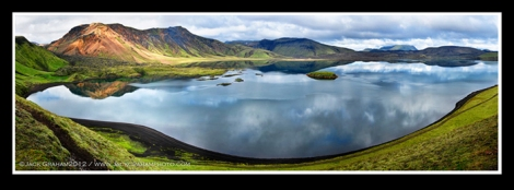 Lake Reflection Panorama