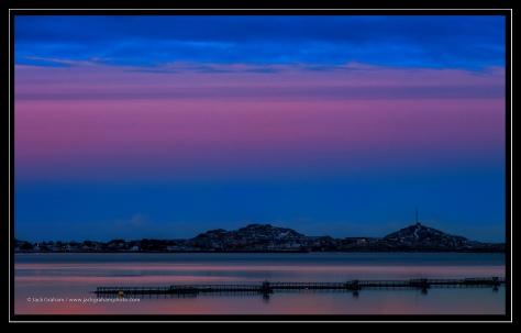 sunrise in lofoton, norway