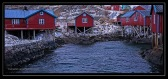 fishing cabins in Lofoton, Norway