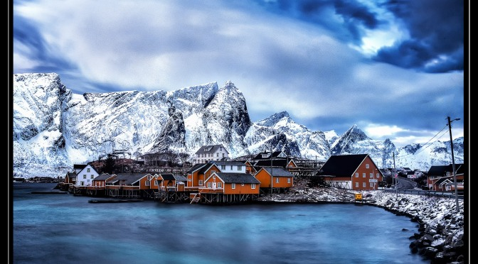 fishing village lofoton, norway